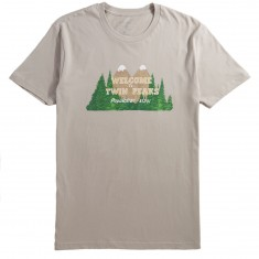 Habitat X Twin Peaks Welcome To Twin Peaks T-Shirt - Off White