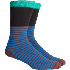 Richer Poorer Holden Socks - Green/Black