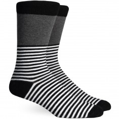 Richer Poorer Holden Socks - Black/Charcoal