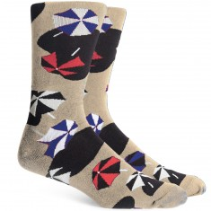 Richer Poorer Shorebird Socks - Oatmeal