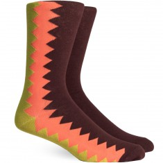 Richer Poorer Sixx Socks - Brown