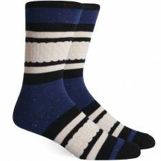 Richer Poorer Provence Socks - Navy