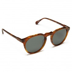 Raen Remmy 49 Sunglasses - Green/Split Finish Rootbeer