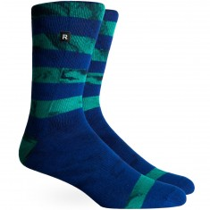 Richer Poorer Cartwright Athletic Socks - Navy