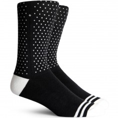 Richer Poorer Fringe Performance Reflective Socks - Black