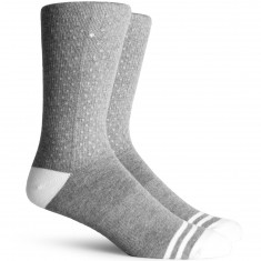Richer Poorer Fringe Performance Reflective Socks - Heather Grey