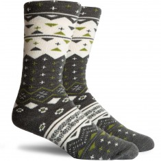 Richer Poorer Flint Socks - Charcoal