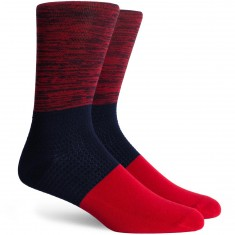 Richer Poorer Elliott Socks - Red