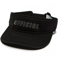 Official Tour Visor Hat - Black