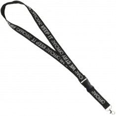 Official Lanyard - Black