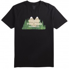 Habitat X Twin Peaks Welcome To Twin Peaks T-Shirt - Black