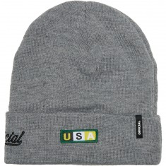 Official Crew Beanie - Athletic Heather