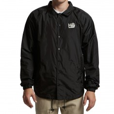 Habitat Pod Stencil Coaches Jacket - Black