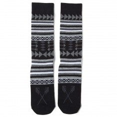 Richer Poorer Hunter Socks - Black