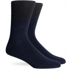 Richer Poorer Redding Socks - Black/Navy