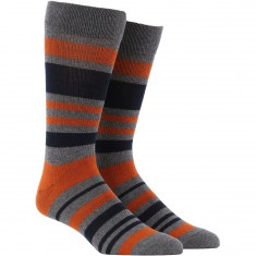 Richer Poorer Mission Socks - Charcoal