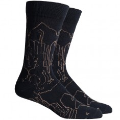 Richer Poorer Savannah Socks - Black