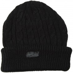 Official Mineral Beanie - Black