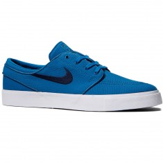 Nike Zoom Stefan Janoski Canvas Shoes - Industrial Blue/Obsidian