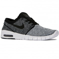Nike Stefan Janoski Max Shoes - White/Black/Dark Grey