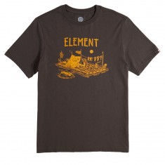 Element River Dreams T-Shirt - Off Black