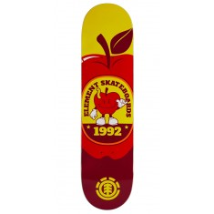 """Element You Are What You Eat Apple Skateboard Deck - 7.90"""""""