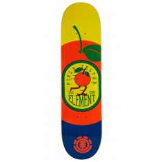 """Element You Are What You Eat Orange Skateboard Deck - 8.00"""""""
