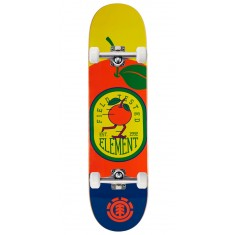Element You Are What You Eat Orange Skateboard Complete - 8.00""