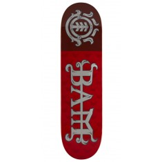 Element Bam LTD Red Skateboard Deck - 8.25""