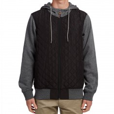 Element Tadler Zip Hoodie - Flint Black