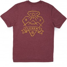 Element Rise T-Shirt - Oxblood Heather