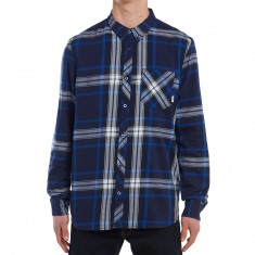 Element Buffalo Long Sleeve Shirt - Midnight Blue