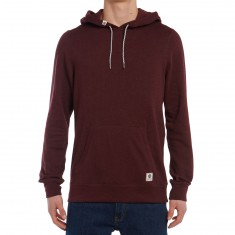 Element Cornell Overdye Pullover Hoodie - Nappa Red