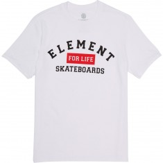 Element For Life T-Shirt - Optic White