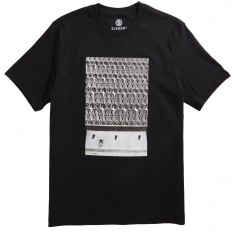 Element French Fred Pipes T-Shirt - Black