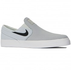 Nike Zoom Stefan Janoski Slip-On Shoes - Wolf Grey/Black/Pure Platinum