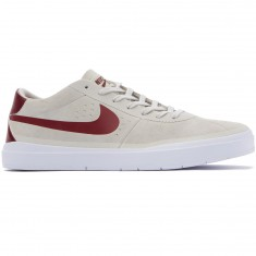 Nike SB Bruin Hyperfeel Shoes - Summit White/Red/White