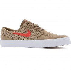 Nike SB Zoom Stefan Janoski HT Shoes - Khaki/Red