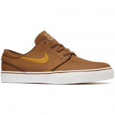 Nike Zoom Stefan Janoski Leather Shoes - Ale Brown/Desert Ochre/Sail