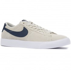 Nike SB Blazer Vapor Shoes - Summit White/Obsidian