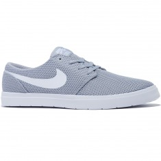 Nike SB Portmore II Ultralight Shoes - Wolf Grey/White