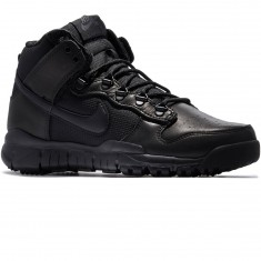 Nike SB Dunk High OMS Shoes - Black/Black