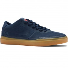 Nike SB Bruin Hyperfeel Shoes - Obsidian/Gum Light Brown