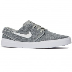 Nike SB Stefan Janoski Hyperfeel Mesh Shoes - Wolf Grey/White/Black