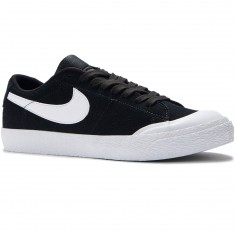 Nike SB Air Zoom Blazer Low XT Shoes - Black/White/Gum Light Brown