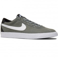 Nike SB Zoom Bruin Shoes - Tumbled Grey/White/Black