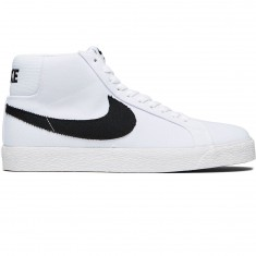 Nike SB Zoom Blazer Mid Shoes - White/Black Gum/Light Brown