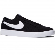 Nike SB Blazer Vapor Textile Shoes - Black/White