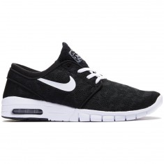Nike Stefan Janoski Max Shoes - Black/White