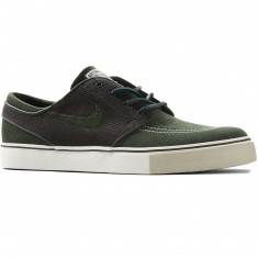 Nike Zoom Stefan Janoski Shoes - Dark Army/Sail